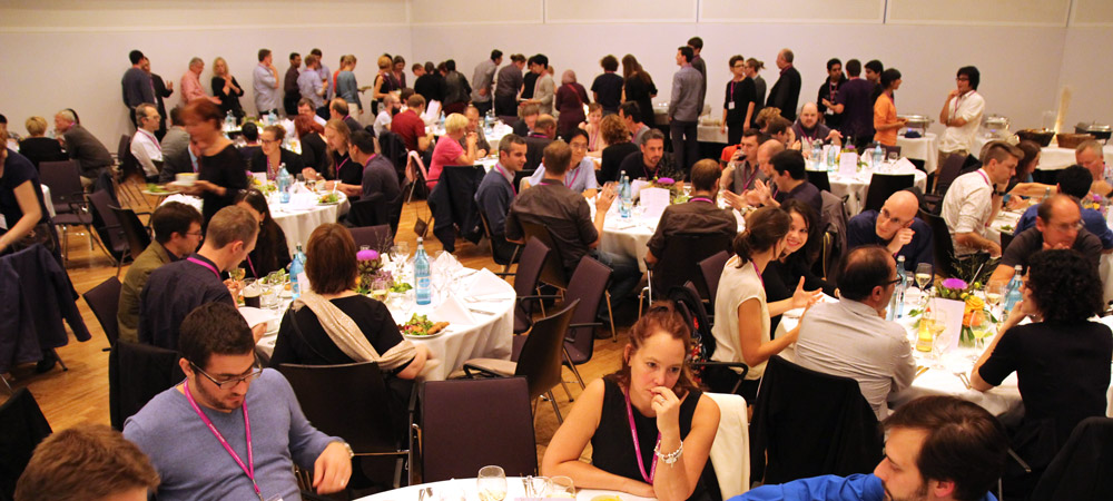 Conference Banquet during INTERACT 2015 Bamberg