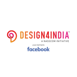 Design4India, NASSCOM, Facebook Logo